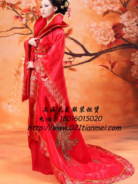 王母娘娘皇后太后服装_古装租赁_上海年会服装租赁